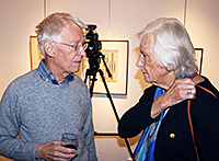 Anders Wahlgren and Louise Lyberg
