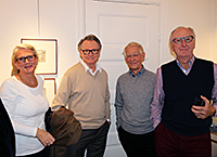 Eva & Jan-Erik Ekbom with Anders Wahlgren and Christer Holmgren